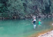 Tecnica pesca alla passata